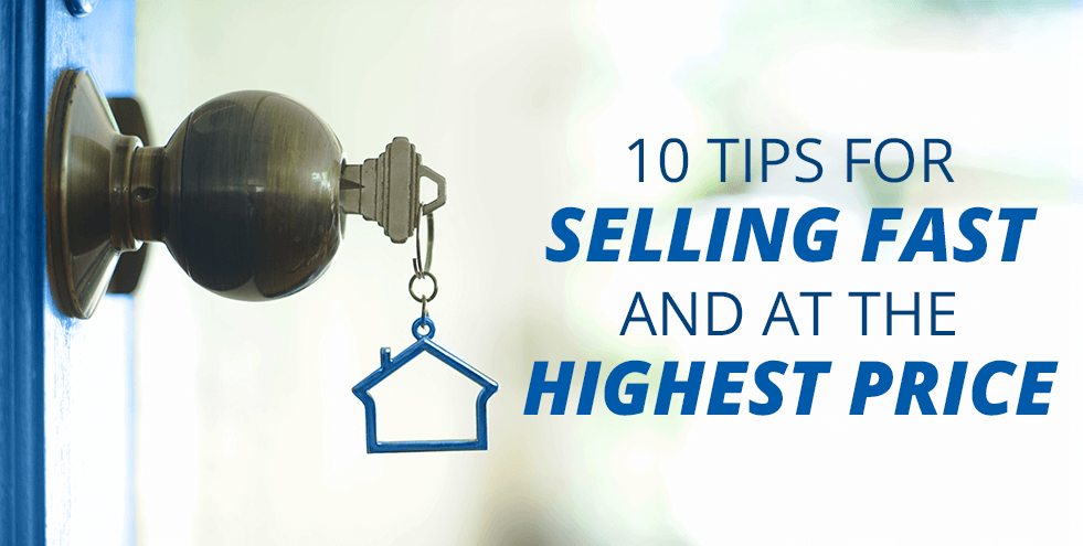 10 Tips for Selling Fast and at the Highest Price - doorknob with key